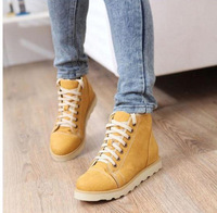 New arrrival ! Fashion  women round toe motorcycle martin  boots with buckle   platform retails and wholesale free shipping