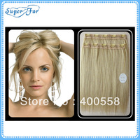 "18"" Synthetic clip in human hair extension,beautiful color,5clips/piece,free shipping"