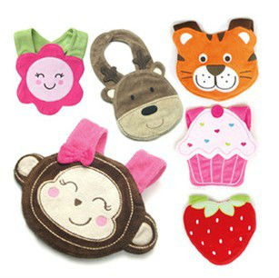 10pcs/lot new fashion cartoon baby bibs for babies kids boys girls waterproof clothes clothing animail Carters bib wear(China (Mainland))