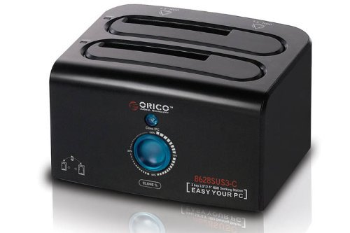 "ORICO 8628SUS3-C, Dual Bay 2.5"" and 3.5"" SATA HDD Docking Station with clone function(China (Mainland))"