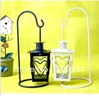Free shipping European-style garden, wrought iron lantern / hot burst section wrought iron lantern candle holder
