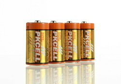 Top Quality!Environmental protection Alkaline battery dry Cell dry Battery Size C battery LR14(China (Mainland))