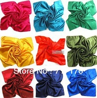 New Arrival for Women's Fashion square scarve 90cm*90cm 20pcs/lot mix colors scarf Free shipping