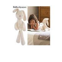 Hot Sale Baby Rabbit Sleeping Comfort Doll Plush Toy Kids Animals Kids Gift Toys Children Lovely Rabbit Toys