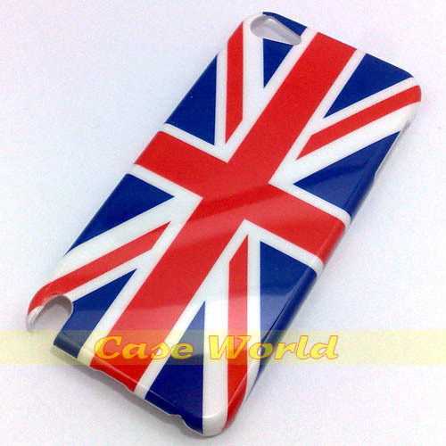 1 pcs New classic UK flag British design back hard case cover for ipod touch 5 5th Gen(China (Mainland))