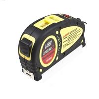 Laser Level Horizon Vertical Measure Tape 18FT/550CM Aligner