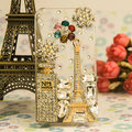 Golden gn320 gn380 gn700w mobile phone luxury rhinestone perfume bottle sparkling diamond mobile phone case(China (Mainland))