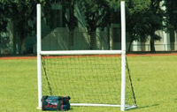 Wholesale&Retail 2013 Hot Sell Inflatable Portable 427cmx366cm  PVC Rugby Goal With ABS Net,1unit/bag