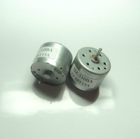The RF-310 miniature motor can start at  low voltage 1V  used in solar panels