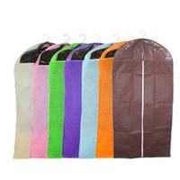 Visual transparent clothing dust cover bags set non-woven clothes overcoat suit cover