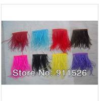 "10Meters/ 6-8"" Trim Ostrich Fringe fluffy ostrich plumes feather feathers centerpieces wedding Clothing decoration"
