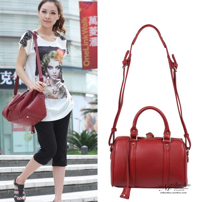 2013 summer vintage bucket handbag for BOSS sofia coppola messenger bag.speedy bag(China (Mainland))