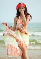 wrap skirt Beach cover up sexy swim Bikini cover up sarong free shipping and drop shipping  beach wear