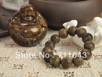 18mm*13pcs Vietnam natural aloes beads bracelet hand string agarwood beads aloeswood beads for men