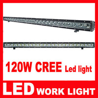 1pcs DHL Free Shipping 39inch 120W LED Light Bar Spot Driving Lamp Jeep Offroad Truck long light Cree LED bar For Boat