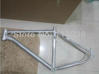 Cool Raw Natural Color Mountain Bike Bicycle Frame           Free Shipping