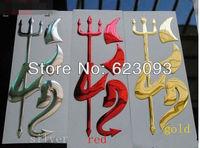 10 PCS free shipping car 3D emblems alloy auto badge