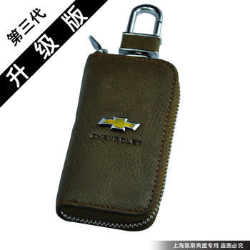 CHEVROLET  the oil waxing leather genuine leather car key wallet