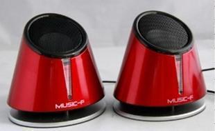 Free Shipping M-x6 reignite misfired6 rockets i speaker desktop laptop usb audio subwoofer