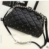 Cat bag vintage bags skull clip rhinestone day clutch one shoulder cross-body women's handbag