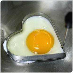 Stainless Steel Heart Omelette Mold Egg Mold Heart Love Ring Omelette Device (KA-01)