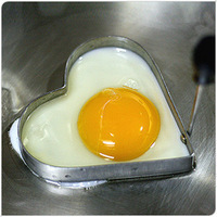 Stainless Steel Heart Omelette Mold Egg Mold Heart Love Ring Omelette Device (KA-01)