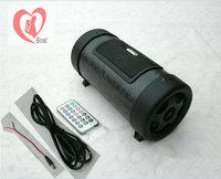 Free shipment 4 inch12v220v dual card usb flash drive car subwoofer car audio motorcycle subwoofer