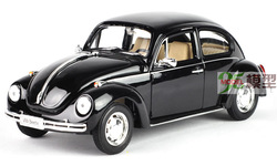 The wyly new beetle welly volkswagen webworm black alloy car models(China (Mainland))