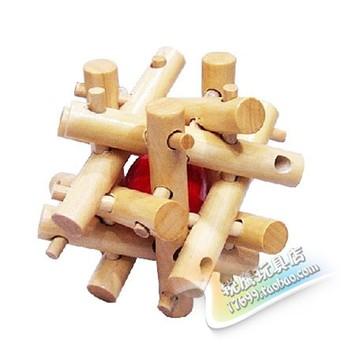 Assembling toys educational toys intelligence toys unlock toy wood toy