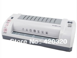 free shipping Lackadaisical 3893 photo laminator a4 laminating machine a4 laminator household mini laminator(China (Mainland))