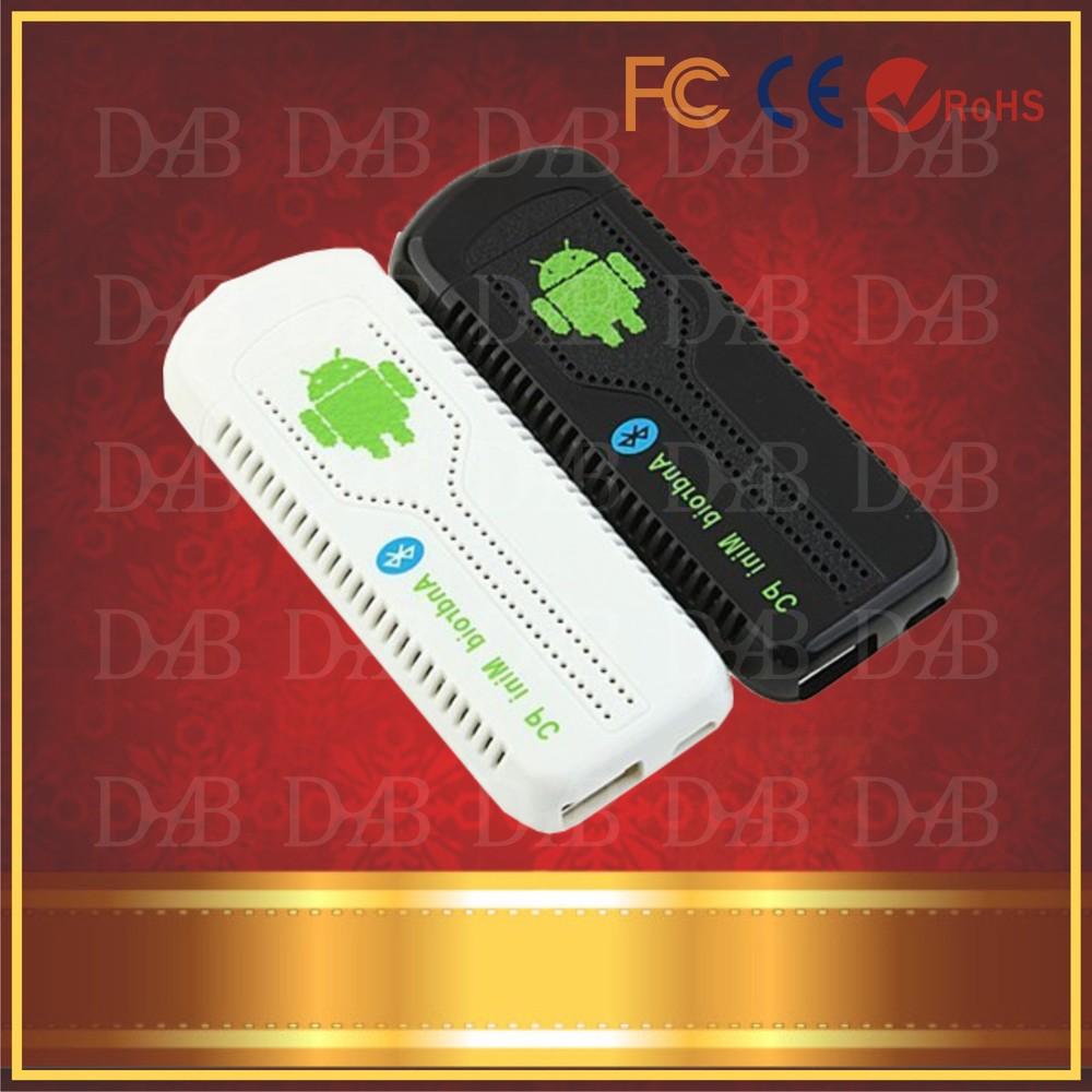 2pcs/lot UG007 II Android 4.1 Stick Mini PC TV box RK3066 Dual Core Cortex A9 1GB RAM + 8GB ROM + 3D WiFi Free shipping(China (Mainland))