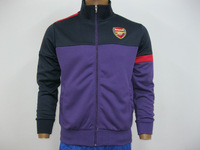 Arsenal  thailand jacket, embroidery logo, SOCCER jacket, top quality  lowest price,fast shipping+free gifts