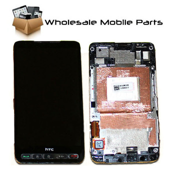 Replacement  LCD Display +Touch Screen Glass Digitizer Housing Assembly for HTC HD2 HD 2 no T-mobile free shipping