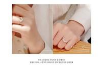free shipping  jewelry rhinestone studded heart finger ring