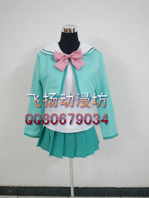 Cosplay clothes - women's winter school uniform(China (Mainland))