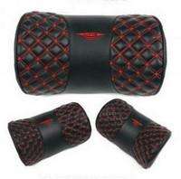 Wine claretred headrest series neck pillow kaozhen comfort pillow car headrest single