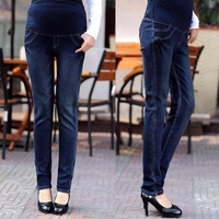 Maternity pants spring maternity jeans slim maternity trousers belly pants pencil pants