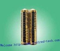 720pcs/Lot, AAA LR03 AM4 1.5v Alkaline Batteries,Super power with golden Jacket