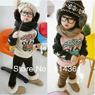 Best Selling!!Boys hoodies baby child car long-sleeved fleece jacket cartoon coat 2 colors Free Shipping