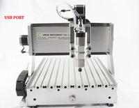 AMAN 800w AC 3040CH80 + 4 axis with USB cnc engraving machine