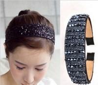 South Korea imported broadside Fashion genuine Crystal Bead Hoop!#1435
