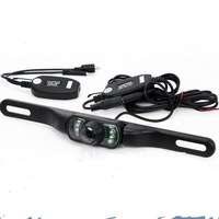 Wireless Rearview Camera For Car GPS and DVD Player + Waterproof + InfraRed + Nightvision ,free shipping