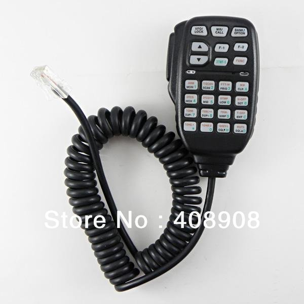 RJ-45 Plug HM-133V DTMF Speaker Mic for ICOM walkie talkie radios IC-2720H IC-2820H(China (Mainland))