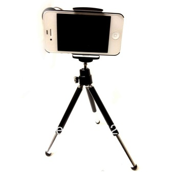 High Quality  1pc free shipping 8X Optical Zoom Telescope Camera Lens For Apple iPhone 5 with Tripod