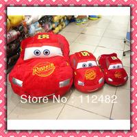 Free shipping Cars 18cm plush doll 50pcs/lot Red Toy wholesale