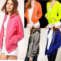 Star american apparel aa neon color sweatshirt hoody outerwear