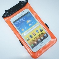 Mobile phone waterproof bag for SAMSUNG note2 7100 9100 i9300 waterproof mobile phone case waterproof