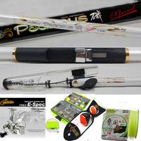 Pure carbon fishing rod  fishing rod set white