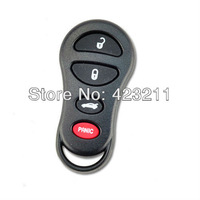 Keyless Remote Key Shell Case PAD For Chrysler Dodge 4 Buttons  FT0029