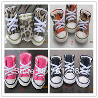 Free shipping Camouflage pink blue lepord sports dog shoes pet casual shoes 10 sets/lot